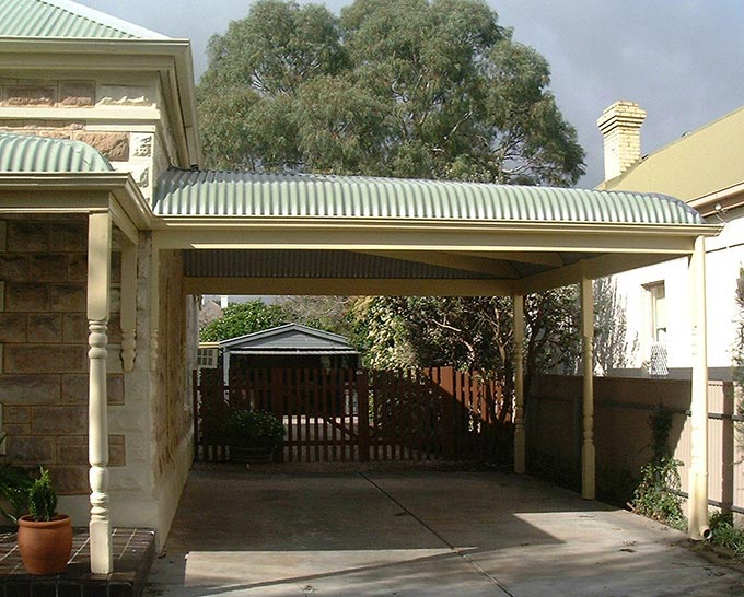 it pays to be bullish when building a heritage carport outside concepts. Black Bedroom Furniture Sets. Home Design Ideas