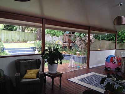 Deck and patio by Outside Concepts