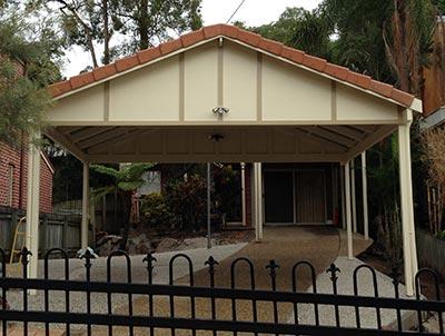 Brisbane double carport by Outside Concepts
