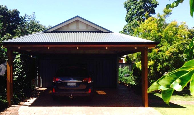 Dutch gable carport archives outside concepts for Gable roof carport