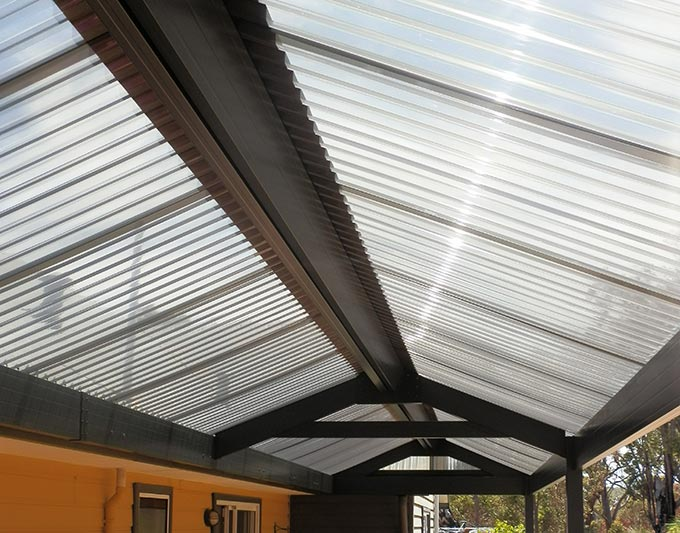 Lexan Roofing Material : Polycarbonate roofing archives outside concepts