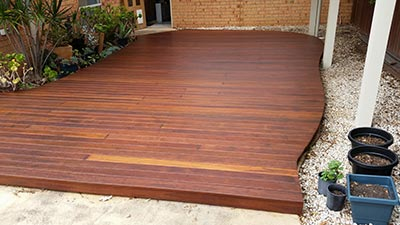 This Melbourne decking and verandah project was completed by Outside Concepts' Melbourne West branch.