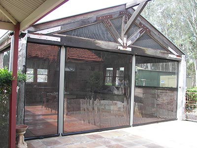 Got your outdoor heating options sorted? Next, consider café blinds to keep the heat inside your outdoor living area.
